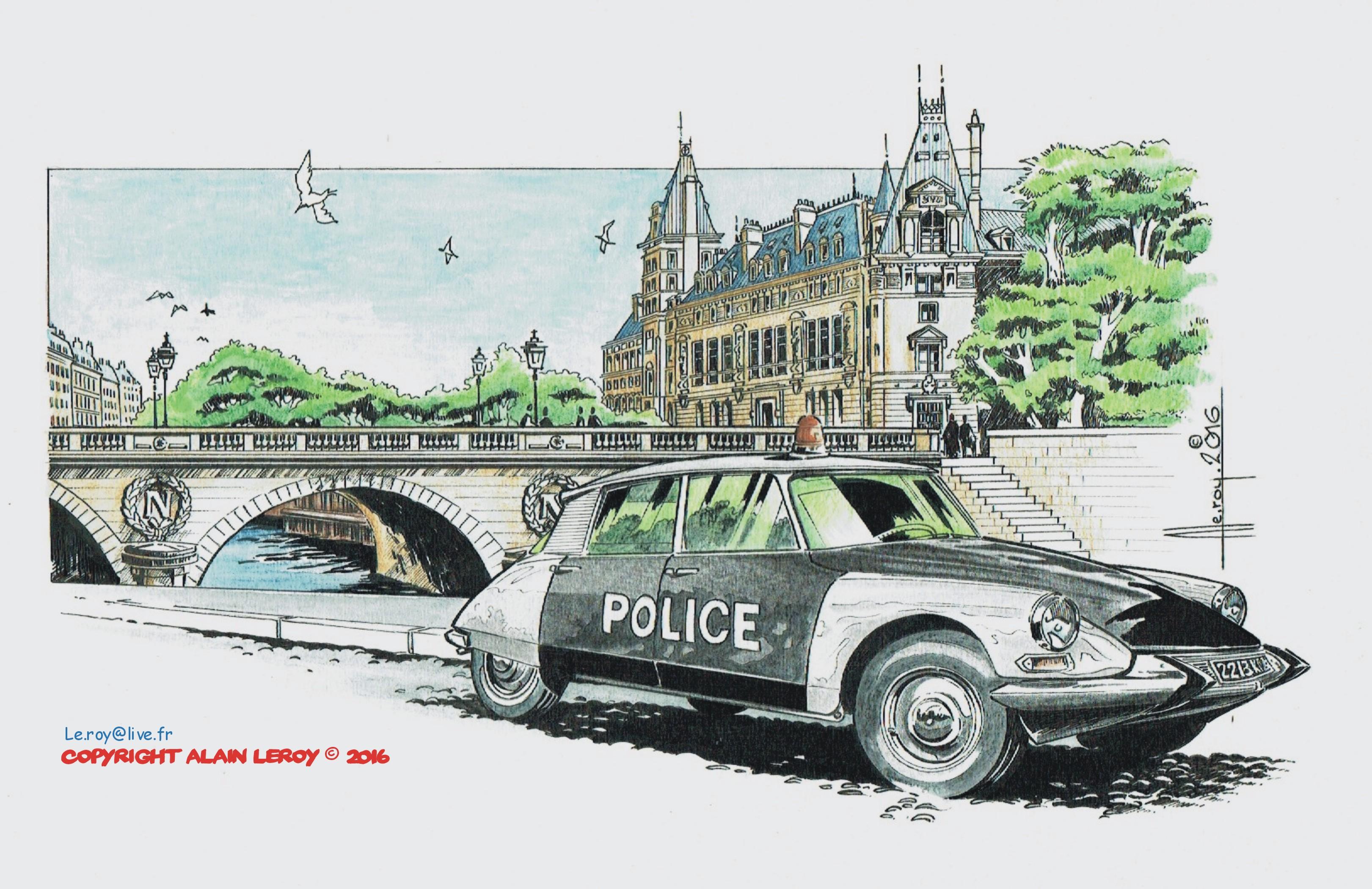 Alain Leroy DS Police