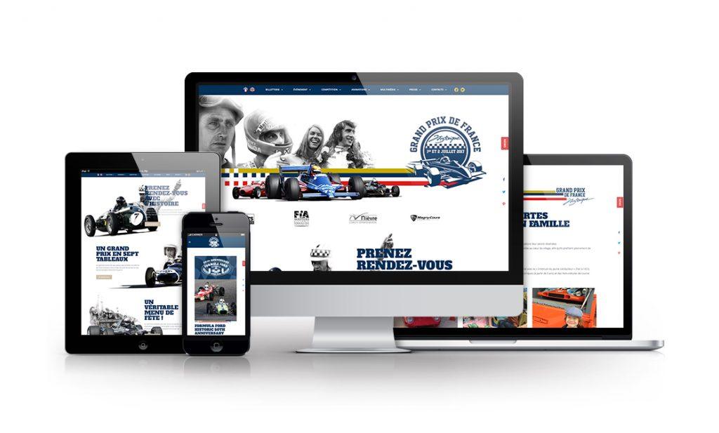 Site Grand Prix France Historique de Formule 1